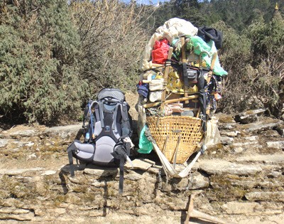 Porters are waiting for their jobs