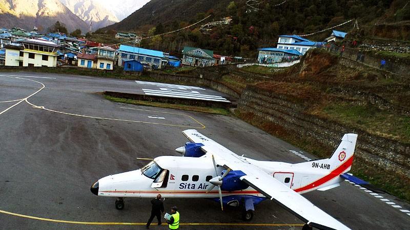Lukla airport Khumbu region