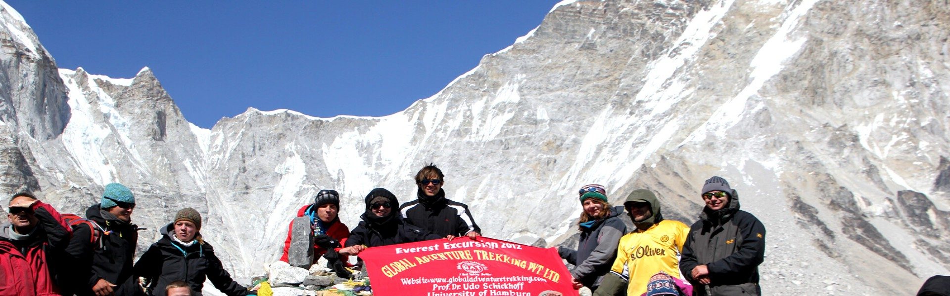 Everest Base Camp trek from Kathmandu