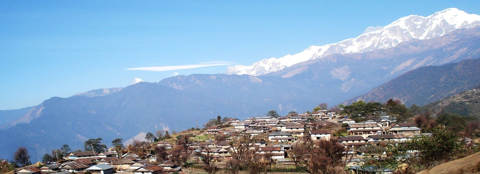 Mountain view from Ghalegaun, Traditional Village Ghalegaun, Himalayan Village Ghalegaun,