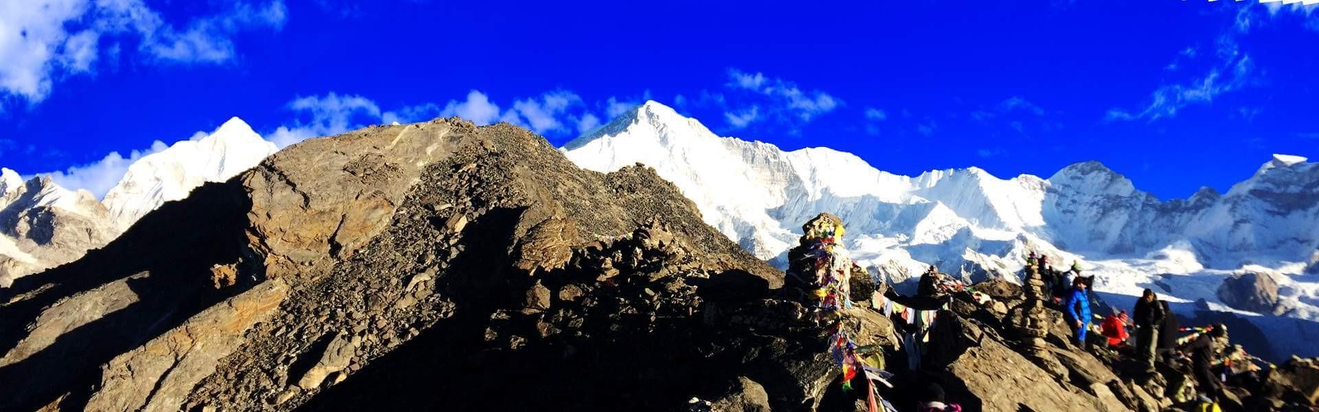 EBC Chola pass trek, Trek to Chola, Chola pass trek