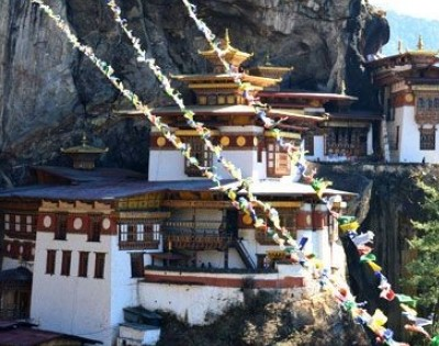 Visit Years old Tiger nest Monastery-Bhutan