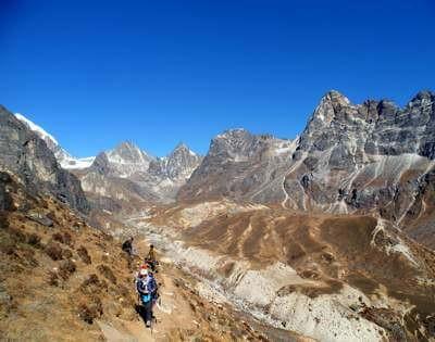 Everest High Pass, Everest 3 pass trek