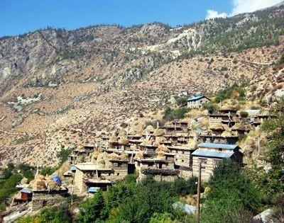 Limi Valley, remote village of Limi valley