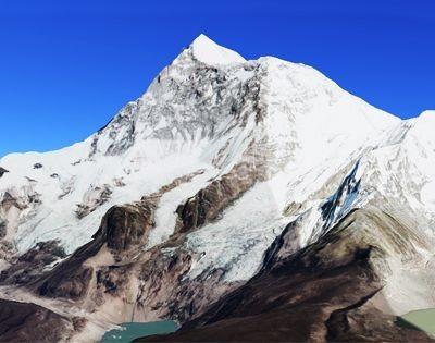 Mount Makalu, view of Mount Makalu, Makalu view from Base Camp