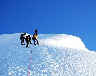 Mera Peak, Mera Peak climbing