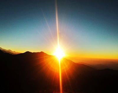 Nagarkot Sunrise, Sunrise Tour, Nagarkot tour, nagarkot morning view